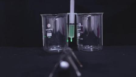 老外用激光灯当做显微镜,竟然把细菌能折射出