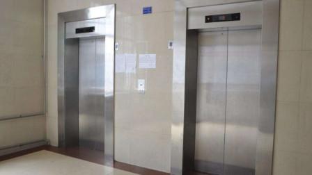 与妻子争吵后 男子连挥重拳砸瘫2部电梯