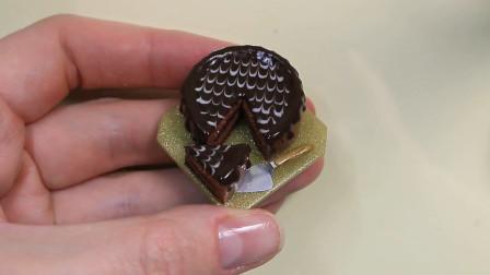 微世界DIY:迷你款巧克力蛋糕