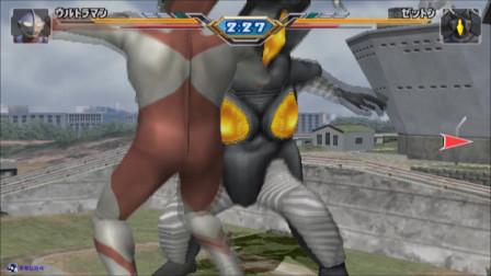 奥特曼格斗进化3:杰顿怪兽还是不能招惹的呀!