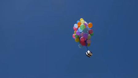 这么多气球会把苹果手机带到哪里?这个结果,让你猜不到!