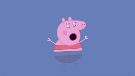 猪妈妈也在进行着冬泳训练