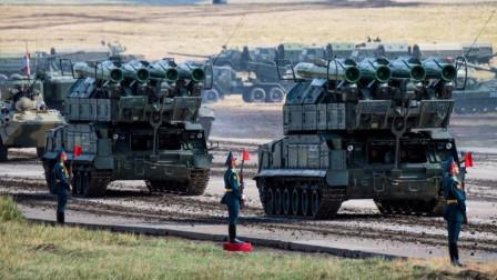兵鉴 美完成大规模部署,俄上万士兵举行演练