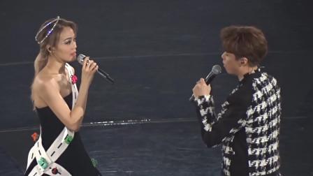 容祖儿演唱会感谢张敬轩,称如果想要做爸爸,她愿意做代孕