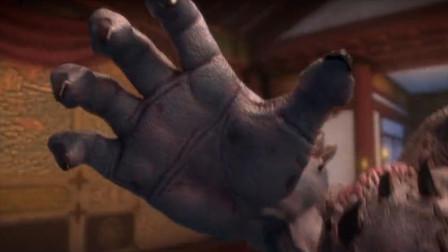 斗破苍穹:为对抗萧炎异火,墨承爆发兽身模样,却被烧得尸骨无存