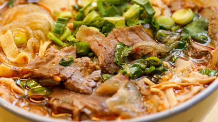 美食台 | 料多又便宜,风靡全国的牛肉汤!