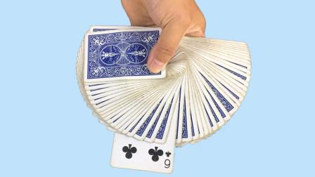 魔术揭秘:把纸牌插入中间,为什么能自动跳到第一张?其实特简单
