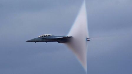 """飞机超音速飞行会穿上""""裙子"""",破坏力大增,难怪不让在低空飞行"""