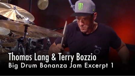 ★ME威律动★Thomas Lang - Terry Bozzio - Big Drum Bonanza Jam 1