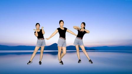 夏天瘦腰健身操基础篇《唐古拉》背面教学 简单高效 快速减肥