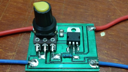 可调LM317电路板焊接