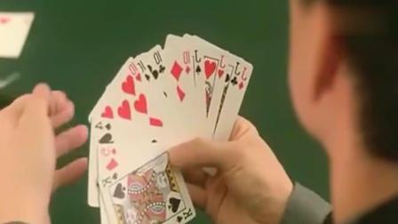 光头佬带上几个老千, 合起伙来对付赌侠, 可惜赌侠不上当