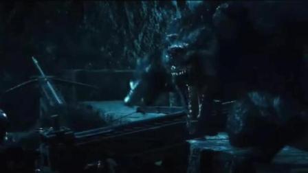 狼人对吸血鬼城堡的进攻, 场面丝毫不逊《指环王》