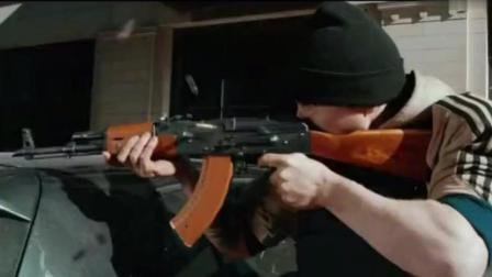 这才是真正的枪战片! 全程高能, 冲锋枪从不停歇