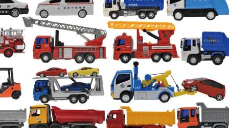 最新挖掘机视频表演1016大卡车运输挖土机+挖机工作+工程车