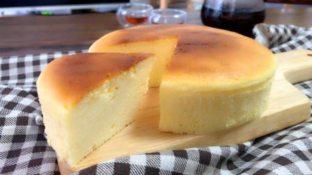 好吃不胖,日式轻乳酪蛋糕