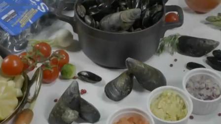 舌尖上的中国:壳菜肉质鲜嫩,肥厚,让它成为世界美食!