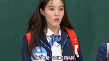 韩综:韩国女团讲述演出时的小事故,随机应变的业务能力超级强!