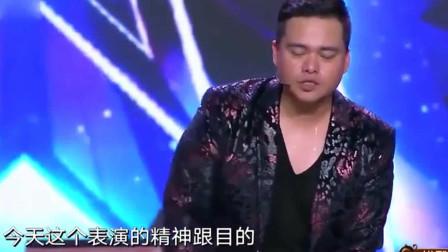 中国达人秀:读心术吓得杨幂都不敢想东西了!