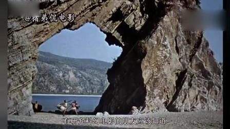 1962年的科幻电影,凶猛神像巨人复活后,疯狂袭击人类