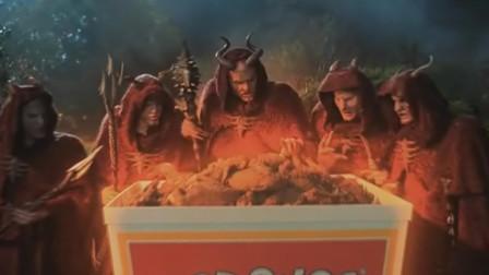 吃货恶魔来到人间准备毁灭地球,吃了块炸鸡却选择当人类的小弟