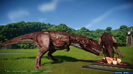南方巨兽龙激战爪龙 恐龙动漫