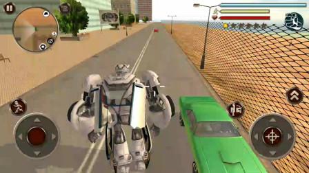 变形机器人英雄:汽车机器人用各种武器都不能打败敌人是怎么回事