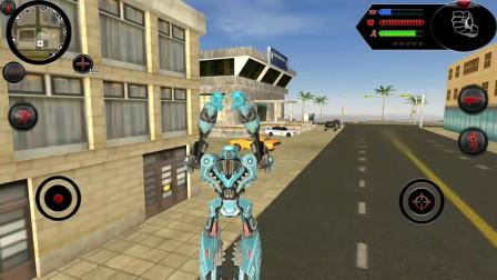 鲨鱼机器人:机器人在房顶上跳来跳去会房顶会塌掉吗