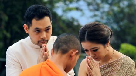 泰国公主成婚礼霸王,新娘须下跪欢迎,抢花球也没有美女敢和她争