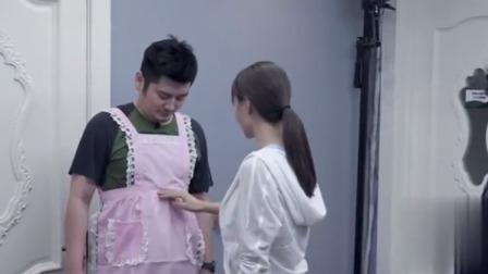 钱枫穿可爱围裙,沈梦辰花式夸:你看腰线拔得,胸以下全是腿