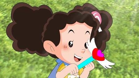 棉花糖的仙女棒不灵了,把家里弄的乱糟糟的,被云朵妈妈赶出来了