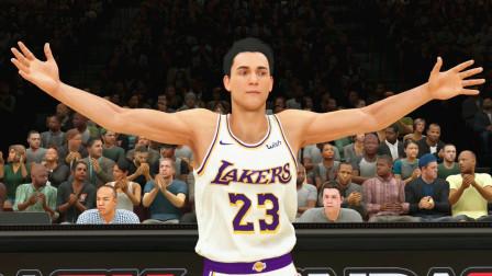 【布鲁】NBA2K20 生涯模式第九期:湖人队新的英雄!