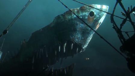 一部特效震撼科幻片,海洋被工业污染,鱼类集体变异机械化!