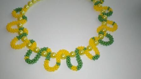 如何利用串珠做项链,步骤详细又简单,包教包会!