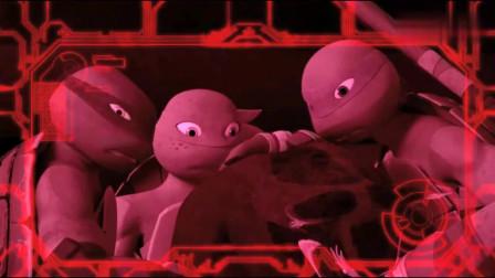 忍者神龟-老鼠师傅在下水道失去控制,见人就咬忍者龟拦都拦不住