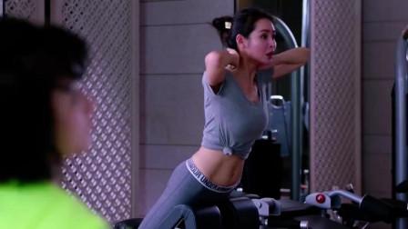 """美女身材好,不是没有原因的,健身房疯狂""""自虐"""""""
