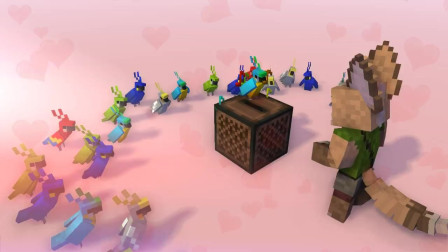 我的世界动画-鹦鹉群舞-Yellow Fire