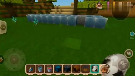迷你世界:使用牛奶桶和岩浆融合