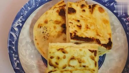 奶酪饼最解馋的做法,和面方法很关键,酸酸甜甜,蓬松又开胃