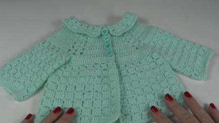 「母婴针织」漂亮舒适的婴儿开衫