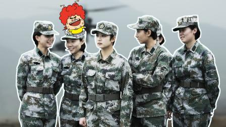 《陆战之王》不爱红装爱武装的中国女兵,英姿飒爽!