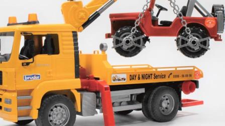 最新挖掘机视频表演36347大卡车运输挖土机+挖机工作+工程车
