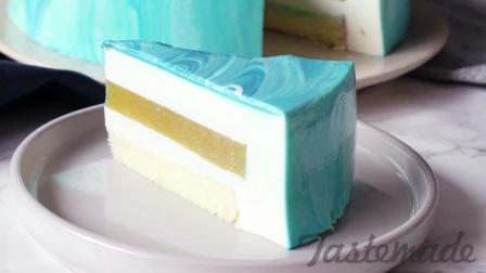 【搬运】芒果芝士镜面蛋糕