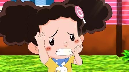 棉花糖答应给小苹果做娃娃的衣服,可是小明的飞机她还没做呢!