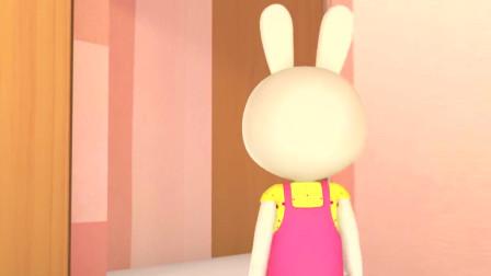 帮帮龙:兔妈妈发现白糖太少了,这点白糖做蛋糕可不够哦