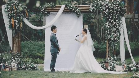 蓝海酒店草坪婚礼  光和影子