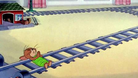 猫和老鼠:眼看着杰瑞就要被汤姆整死,求天求地不如求小鸟,干的太漂亮了!