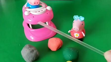 佩奇乔治做的冰糖葫芦