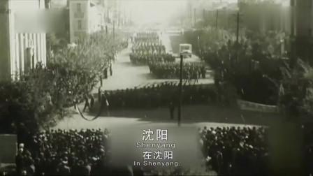 蒋介石在台湾和一些高级将领们看大陆国庆阅兵看完后激动不已!