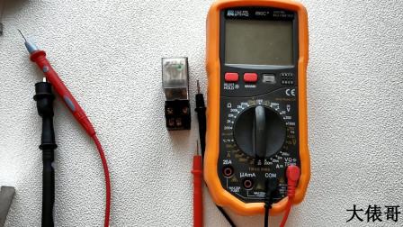 890C万用表怎么测电流?为什么俵哥选择200ma的量程?
